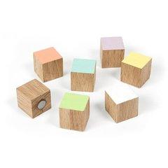 Houten magneten