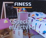 Schoolbordverf Finess 0,5 Ltr kleur Blauw_