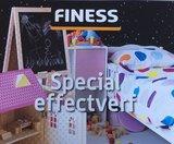 Finess schoolbordverf 0,5 Ltr kleur Blauw_