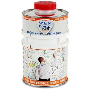 Whiteboardverf Active Wall transparant glans inhoud 0,5 ltr