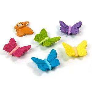 Vlinder magneten Butterfly - set van 6 stuks