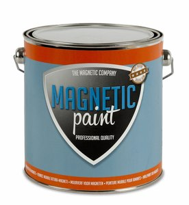 Professionele magneetverf Magnetic Paint 2,5 ltr