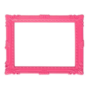 Magnetisch fotoframe kleur roze - klassiek