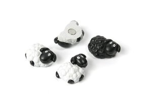 Trendform schaap magneten - 4 stuks