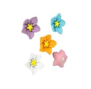 Kleurrijke bloem magneten Blossom - 5 stuks