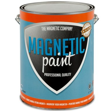Professionele magneetverf Magnetic Paint 5,0 ltr
