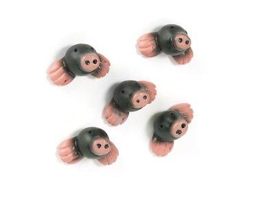 Grappige magneten Mol Paul - set van 5 stuks