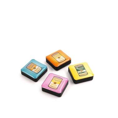 Magneet Icon Retro Soup - set van 4 stuks