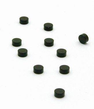 Steely magneetjes zwart - set van 10