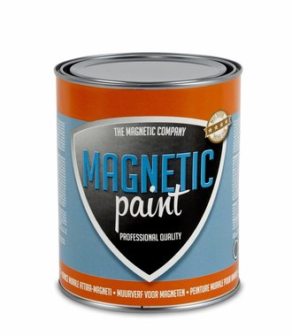 Professionele magneetverf Magnetic Paint 1,0 ltr