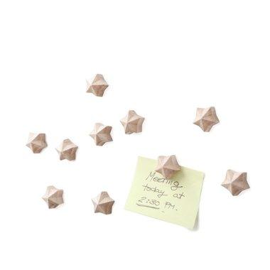 Auriga Magneten - set van 5 stuks van hout gemaakt