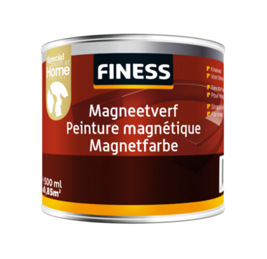 Finess magneetverf 0,5 Ltr