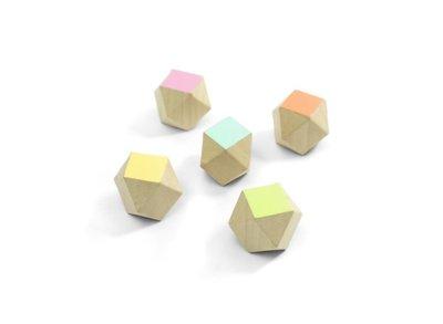 Polygon houten blokjes